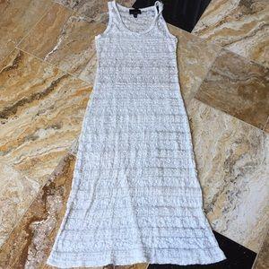 Cynthia Rowley stretch maxi beach dress/swim cover